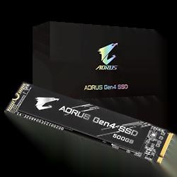 Gigabyte 500 Go M.2 NVMe Gen4 AORUS GP AG4500G