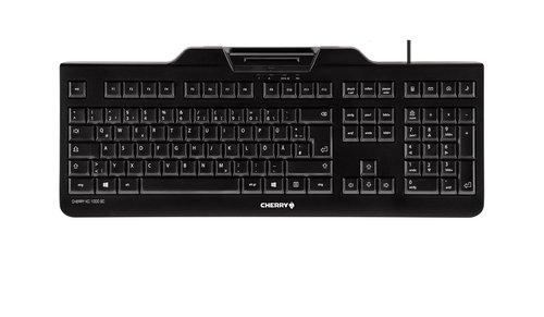 Cherry Keyboard KC1000SC W/smartcards reader QW