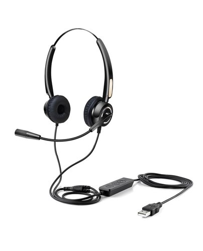 Urban Factory MOVEE: USB HEADSET WITH REMOTE CONTROL