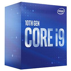 Intel Core i9 10900 2.8GHz/12Mo/LGA1200/Ss Vent./BOX