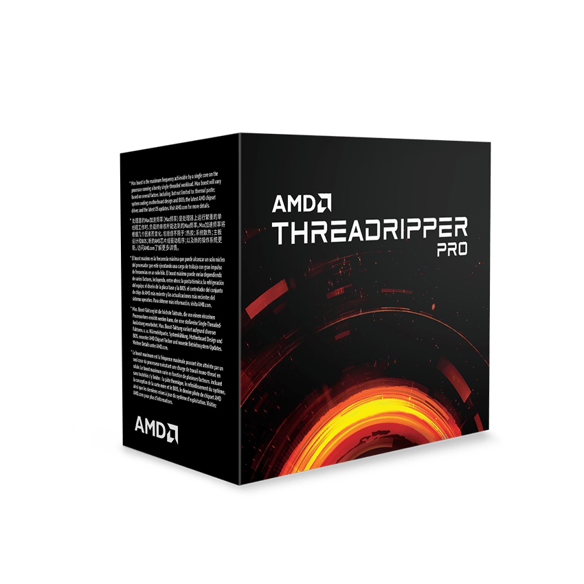 AMD Threadripper 3955WX 3.9GHz/64Mo/sWRX8/ss Vent.