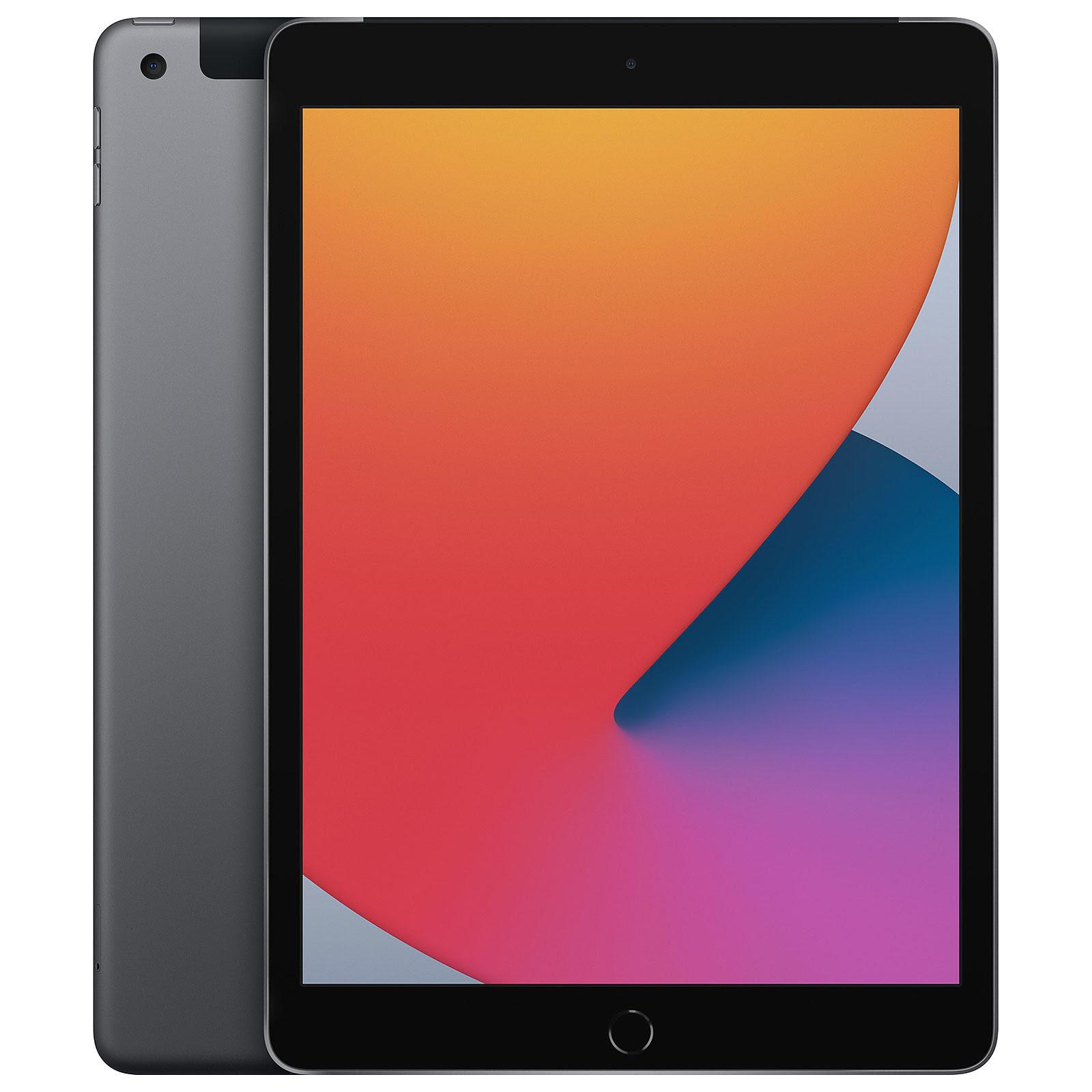 iPad 10.2 WiFi+Cell. 32Go Gris Sid. - MYMH2NF/A
