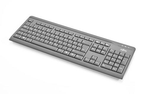Fujitsu Keyboard KB410 USB Black FR