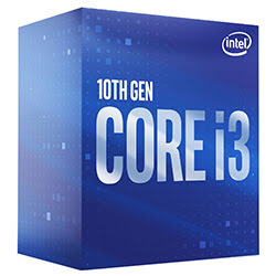 Intel Core i3 10100F 3.6GHz/6Mo/LGA1200/Box