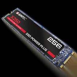 Emtec 256Go SSD M.2 X250 Power Plus